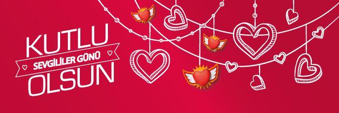 Yemek sektörüne özel, Sevgililer Günü ücretsiz e-posta şablonu