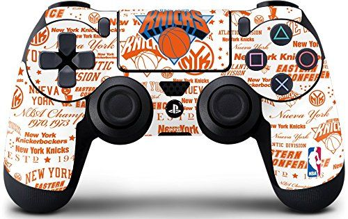 NBA New York Knicks PS4 DualShock4 Controller Skin - NY Knicks Historic Blast Vinyl Decal Skin For Your PS4 DualShock4 Controller