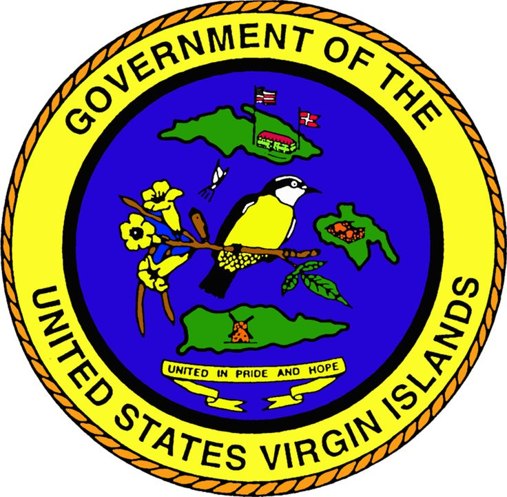 Seal of the United States Virgin Islands -