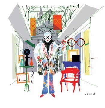 L'icône de la mode Iris Apfel au Bon Marché à Paris http://www.fashions-addict.com/L-icone-de-la-mode-Iris-Apfel-au-Bon-Marche-a-Paris_379___16614.html
