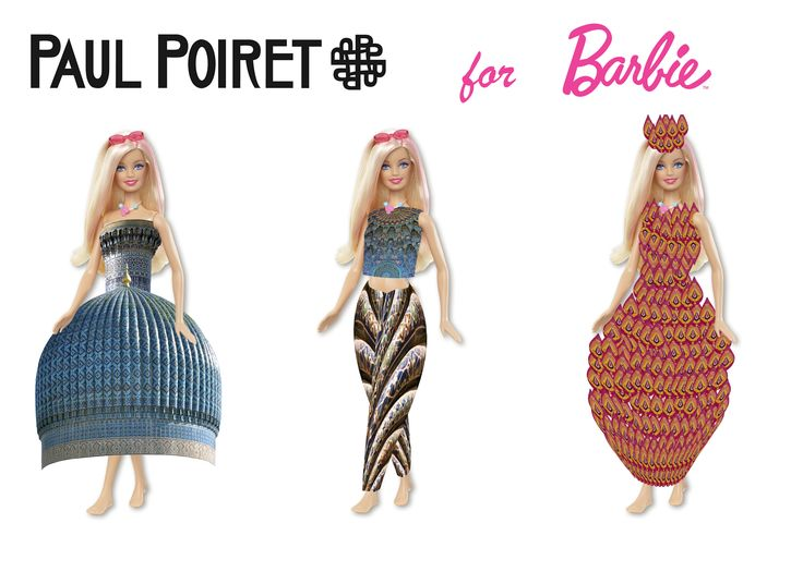 #barbie for #paulpoiret by #valentinkhan