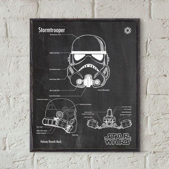 Star Wars ,Stormtrooper Art,Stormtrooper Helmet,Star Wars Print,Stormtrooper Print,Star Wars Poster,Star Wars Gift,Stormtrooper Poster #P293 COLORS AND SIZES You can choose between 16 different colors and 9 different sizes. If you would like a differnt size or would like a different