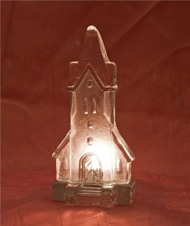 Ljuslykta, kyrka i glas, Nybro glasbruk