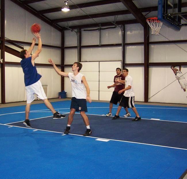 Indoor Basketball Court Indoorbasketballcourt Basketball Workouts Basketball Court Home Basketball Court