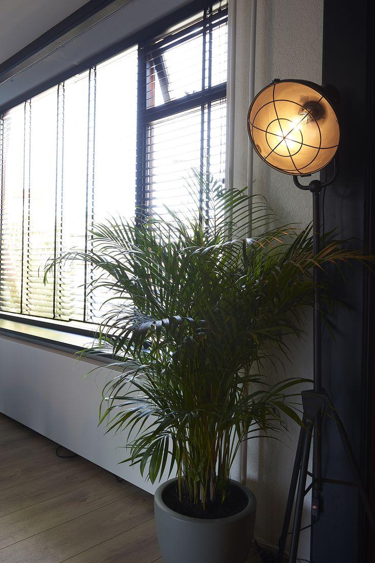 ROFRA Home - Vloerlamp Guara is altijd een prachtige vloerlamp om naar te kijken. Overdag als het licht genoeg is, kan je genieten van het design. Op het moment dat de woonkamer dan in het donker verlicht wordt met deze vloerlamp is er eveneens sprake van een schitterende uitstraling. De lamp heeft door het ontwerp en metaal als materiaal een industriële en stoere look. Dat past perfect in je moderne interieur.
