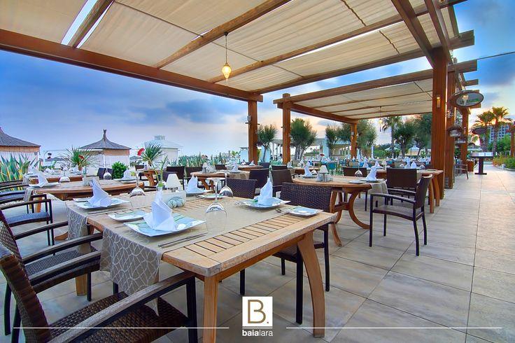 You will sail to Mexican cuisine with its authentic atmosphere and characteristic design and make every moment of your dinner unforgettable with its rich menu and awesome view.   Otantik atmosferi ve karakteristik tasarımı ile Meksika mutfağına yelken açacak, zengin menüsü ve harika manzarası ile Baia Lara' daki her anınızı unutulmaz kılacaksınız.  #lasalsita #alacarte #mexican #baialara www.baiahotels.com