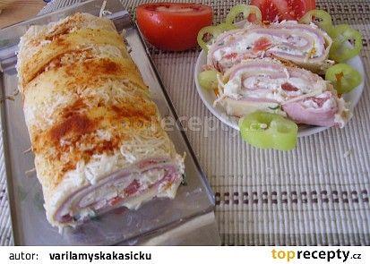 Roláda ze všech druhů sýra... recept - TopRecepty.cz
