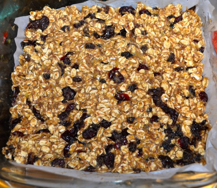 Clean eating granola bars (left out the Stevia, plenty sweet with just the honey)