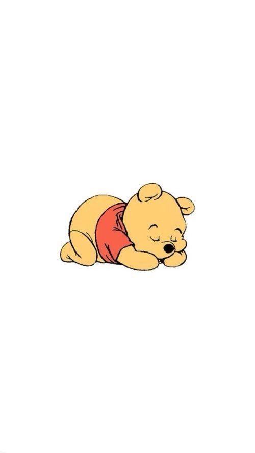 Winnie l'Ourson iPhone fond d'écran / économiseur d'écran – #décran #économ…