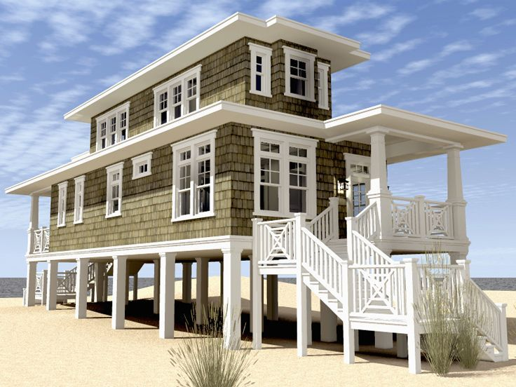 Beach house, 1283 sqf Left View, 052H-0105, 2 bedrooms/2 bath