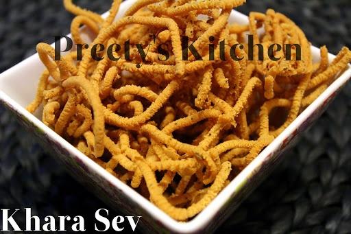 Khara Sev (Diwali Recipe)/ Chickpea Flour Snack