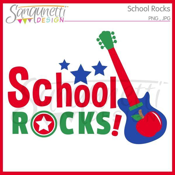 Sanqunetti Design: School Rocks Clipart