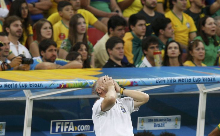 Brazilians had mixed feelings about the World Cup even before their team's humiliation in the semi-final match against Germany. Now they're left to dwell on what's been spent on the competition and what they got out of it -- a pretty dismal return on investment.  Click here for the full story: http://www.iol.co.za/business/international/can-brazil-achieve-a-brics-triumph-1.1719002#.U8KXPaKyGe0  Photo credit: Reuters.