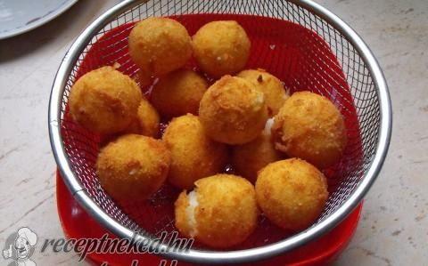 Sült krumpligolyó recept fotóval