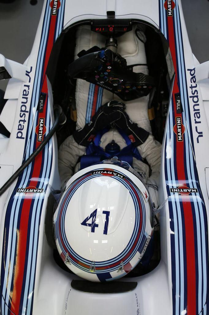 Susie Wolff : Williams Martini Reserve Pilot, before the 2014 #F1 Grand Prix @ Hockenheim.