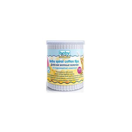 Babyline Детские ватные палочки со спиралевидной намоткой  в пластиковом боксе 150 шт, BABYLINE  — 97р.  Ватные палочки BabyLine(Бэби Лайн) со спиралевидной намоткой помогут очистить кожу, пупок, ушки и носик малыша. Спиралевидная намотка позволит сделать это более тщательно. Стики из бумаги помогут избежать травм, ведь при нажатии они сгибаются. Отлично подойдут для первых гигиенических процедур.  Дополнительная информация: Материал: хлопок Возраст: с рождения Количество: 150 шт.  Детские…
