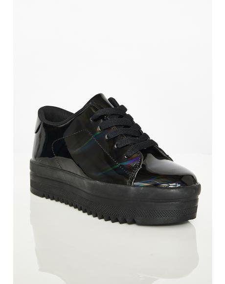 73df91a1c733f3 Night Light Chemistry Platform Sneakers #dollskill #instagram #rhinestones  #streetstyle #sneakers #platform