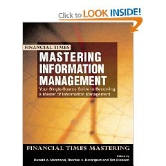 Mastering Information Management By Thomas Davenport