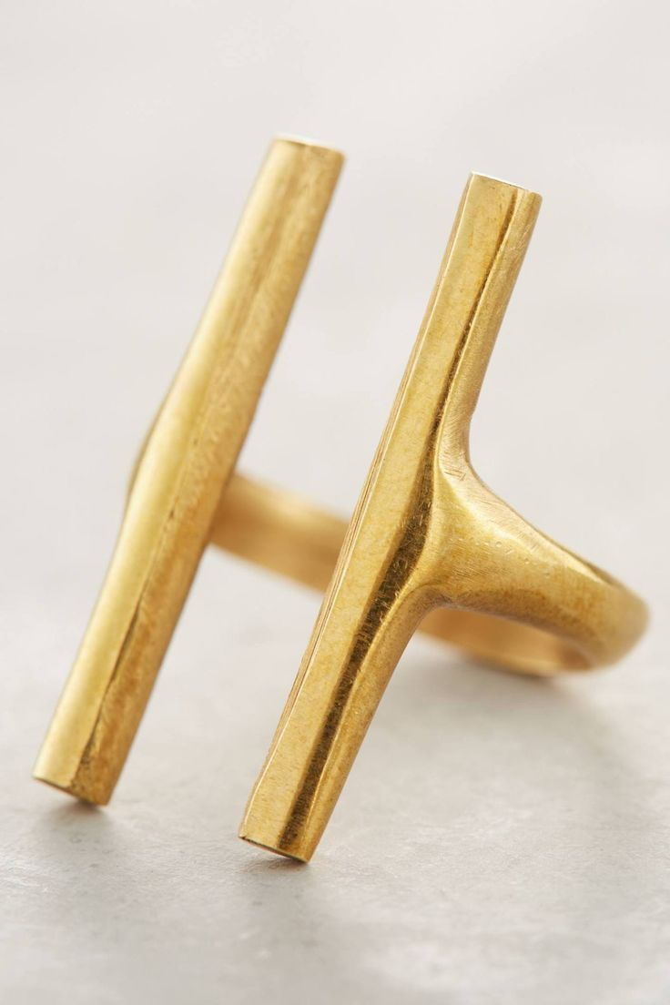 Channel Ring #anthrofave #anthropologie