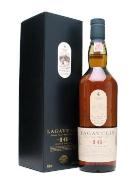 Lagavulin 16... Easily one of the greatest single malts available. Smokey and smooth. Worth the premium.