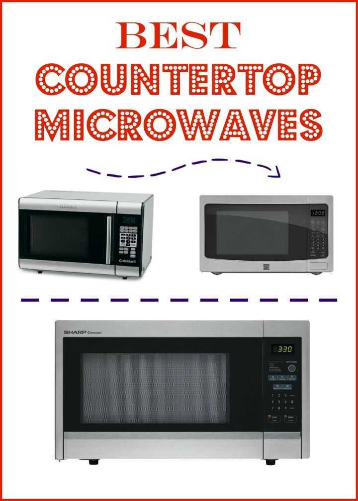 The Best Countertop Microwaves