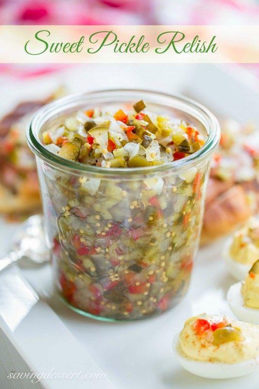 Homemade Sweet Pickle Relish