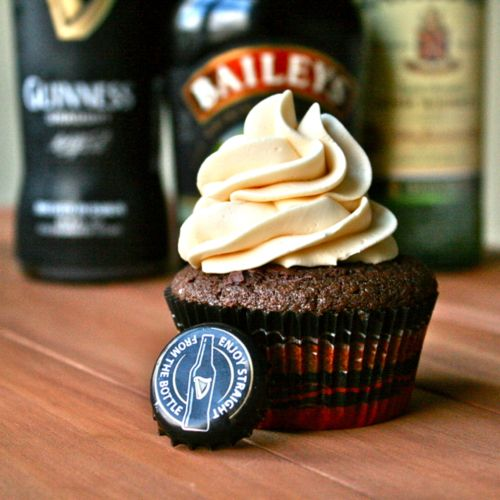 Guinness cupcakes