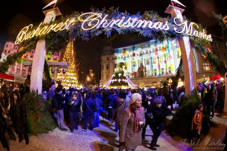 Bucharest Christmas Market Opening