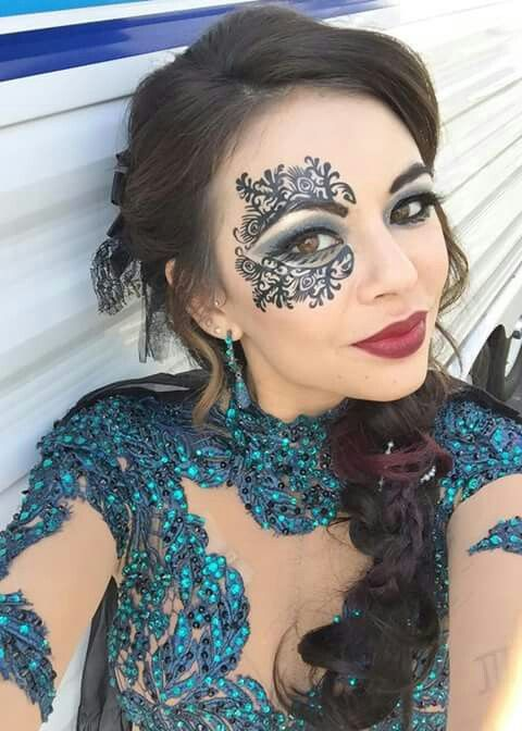 Janel Parrish look fiercely awesome