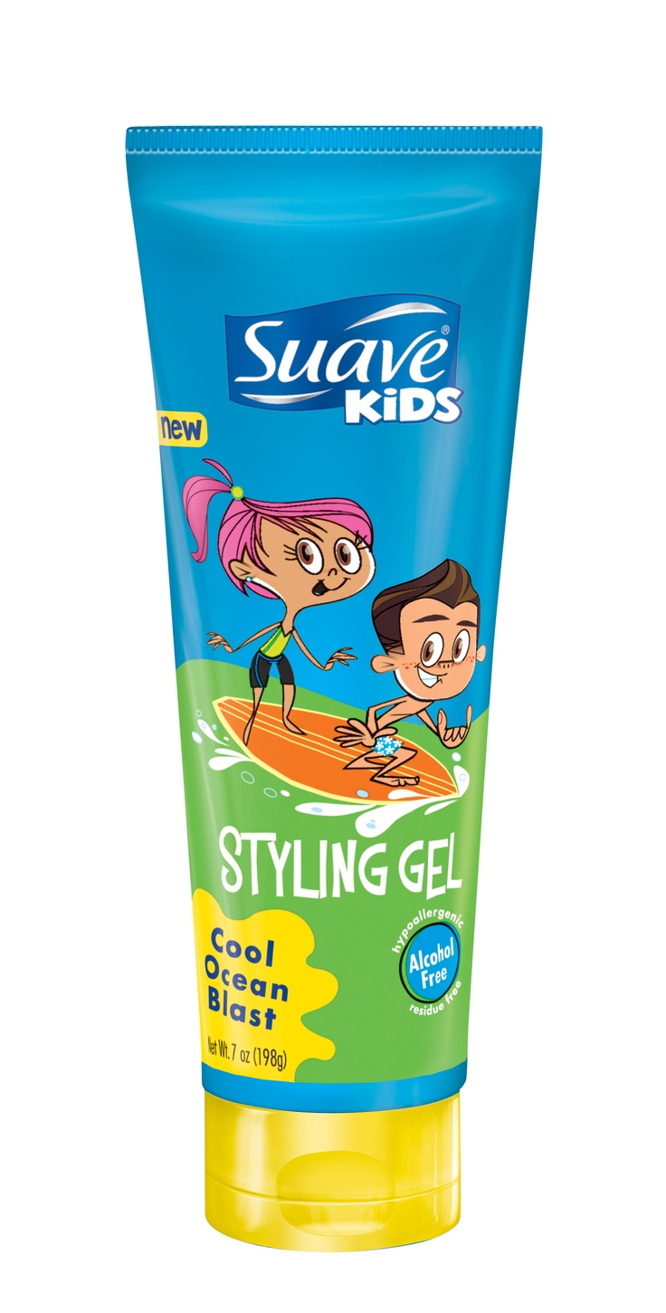 Thumbs-up for spiked hair! Find this Pin and more on Suave Kids Holiday Gift Guide by Suave Beauty. Excuse the facts that I am too old, and I am not a boy, but this is awesome. He will give a major thumbs up if he gets Suave Kids Cool Ocean Blast Styling Gel under the tree.