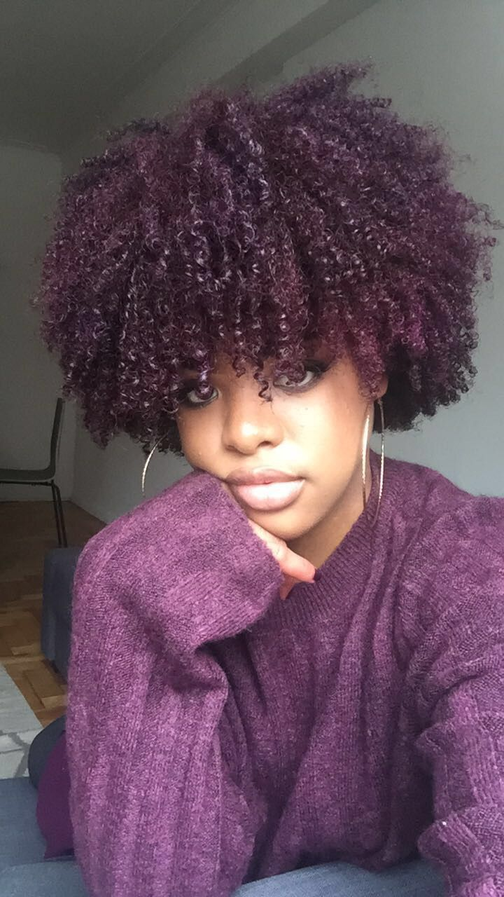 Color-treated healthy natural hair