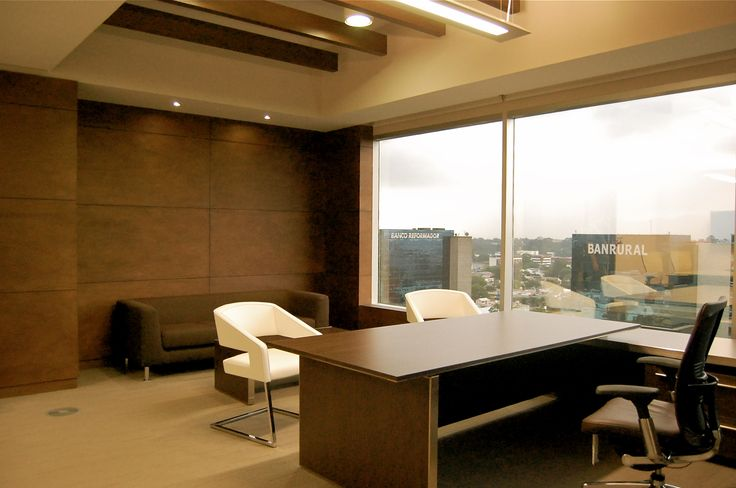 Executive office interior design new ideas home decor - Office interior design photo gallery ...
