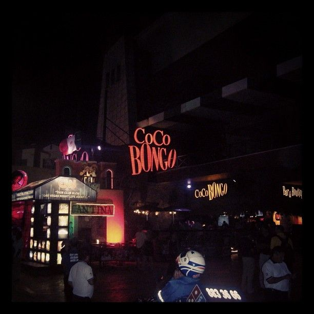 #CocoBongo, #Cancun, #Mexico