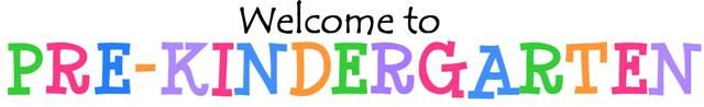 Download the materials to create a FREE Welcome to Pre-Kindergarten banner