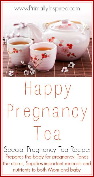 I've heard some moms swear by this! Have a healthy and easier pregnancy with this pregnancy herbal tea.
