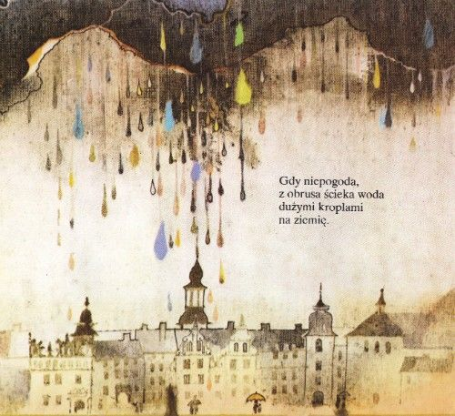 Polish Illustration - Rainbow Palace
