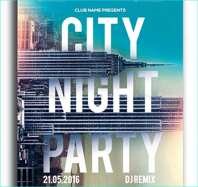 24 best Night Party Flyer Templates images on Pinterest Business - party flyer