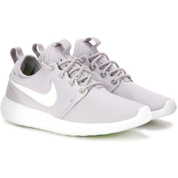 Nike Nike Roshe Two Sneakers ($110) ❤ liked on Polyvore featuring shoes, sneakers, grey, grey shoes, nike, gray sneakers, nike trainers and nike sneakers