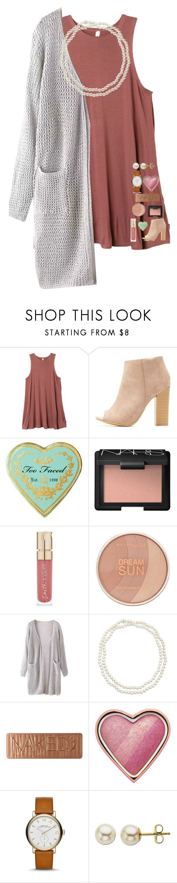 """Idk"" by cheerlover123 on Polyvore featuring RVCA, Bamboo, NARS Cosmetics, Smith & Cult, Maybelline, Chico's, Urban Decay, Too Faced Cosmetics, Marc Jacobs and Lord & Taylor"