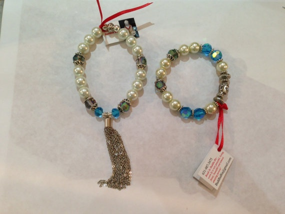 This is a Set of Handmade  Bracelets utilizing by BuddhaBia, $59.00
