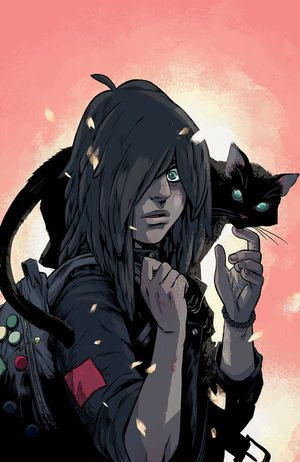 The True Lives of the Fabulous Killjoys #1 (Becky Cloonan cover) :: Profile :: Dark Horse Comics