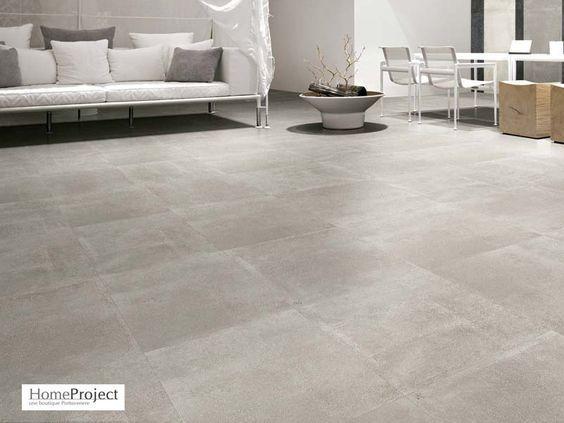 Carrelage Ciment Gris 60 X 60 Cm Naturel Rectifie Homeproject