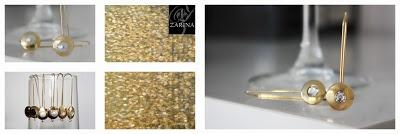 """""""ELEGANCE"""" Disponibles con cristal de Swarovski en Blanco, Negro, Azul y Rojo, o con perlas. o con montura plata.  Exclusive by ZARINA  Info.zarinadesigns@gmail.com"""