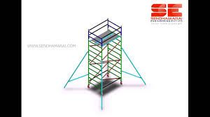 """Multi-purpose and lightweight, scaffolds can be used as static or mobile towers. see more  click to <a href=""""http://www.sendhamarai.in/aluminium_scaffolding_bangalore.html """">aluminium scaffoldingsuppliers</a>"""