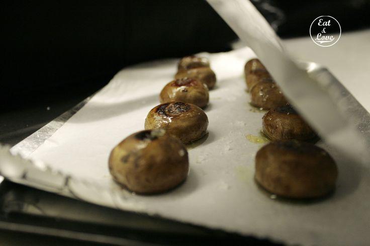 Champiñones a la plancha en Sala de Despiece - restaurante tapas Madrid