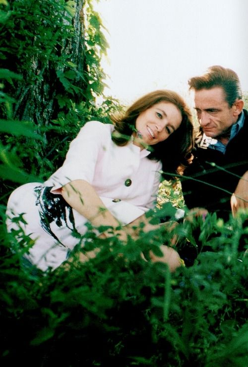 Johnny and June photographed by Bob Cato, c. late 1960s....Oh my goodness the way he looks at her <3