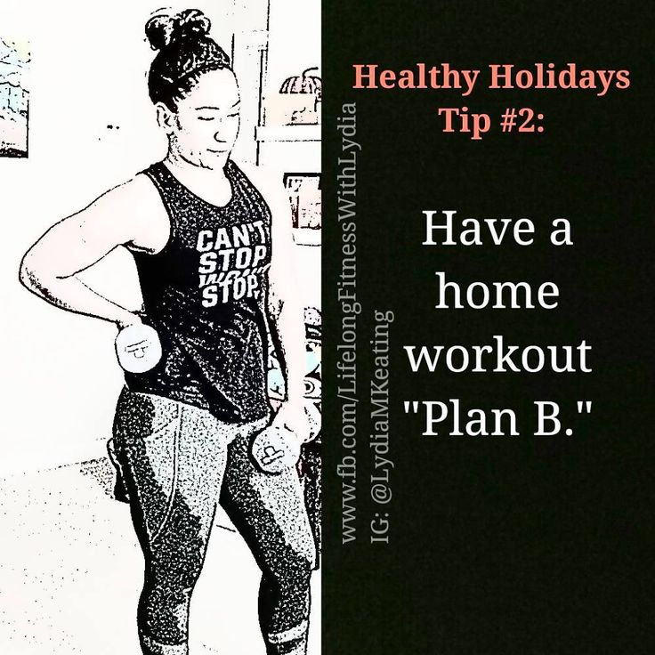 "Tip #2: Have a ""Plan B."" So here's the thing. Weather happens. Family craziness happens. Heck ""all my cute workout clothes are dirty"" happens. And even if you are a gym-only kind of person there WILL be moments when getting to the gym is not an option. Sooooo...you need a home workout ""Plan B."" Now you have SO many options...YouTube IG #BeachbodyOnDemand traditional DVDs or just throw on some high energy dance music and have at it...but if you don't have a plan when the excuses hit your…"
