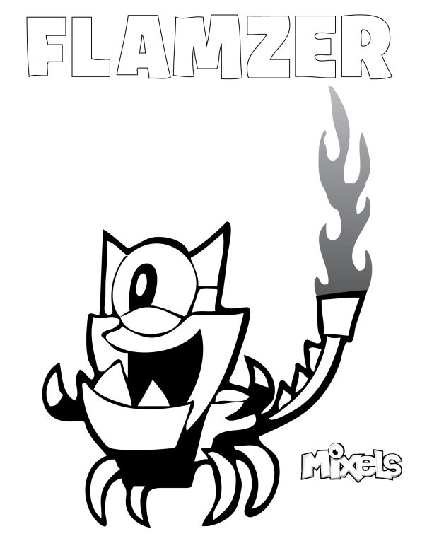 41 best images about lego mixels on pinterest the lego for Lego mixels coloring pages
