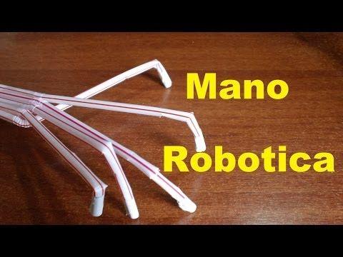 Mano Robotica Automatizada. Tutorial de Construcción de una Mano robotica Paso a Paso.