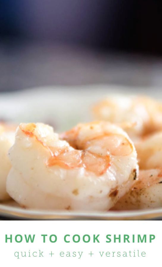 How to cook shrimp the right way